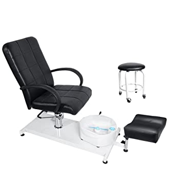 Superieur BEAMNOVA Hydraulic Pedicure Chair Beauty Adjustable Lift Chairs With  Easy Clean Bubble Massage Footbath Salon