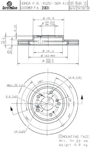 Brembo Rotors - 9