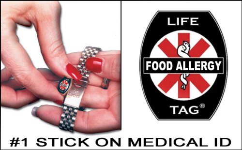 LIFETAG Food Allergy Medical I