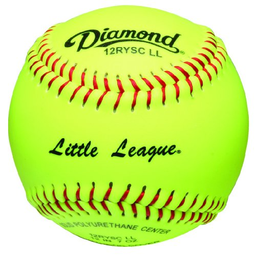 Diamond Sports 12-Inch Optic Super Synthetic Cover Little League Softball, Dozen