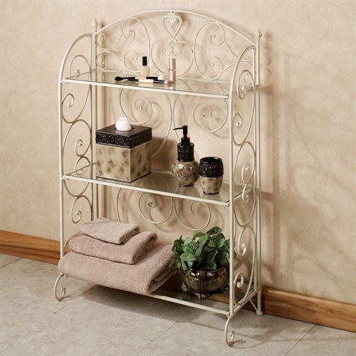 Touch of Class Aldabella Creamy Gold Etagere ()