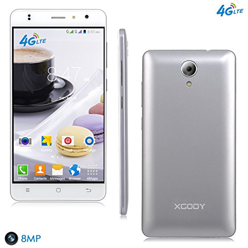 4G Lte Unlocked Smartphones Xgody X200 PRO 5 Inch Android 6.