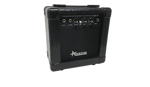 Amplificador combo para guitarra electrica ROCKSTAR BC08 con 10W de ...