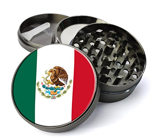 Mexico Tobacco Grinder Pollen Catcher product image