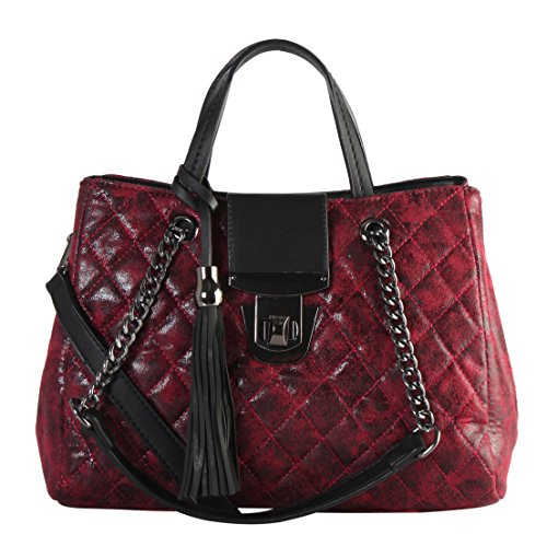 Quilted Patent Tote - 5