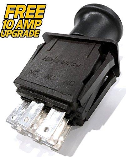 Husqvarna 582107601, 107601 - Clutch PTO Switch - FREE 10 AMP OEM UPGRADE! - HD Switch (Lawn Tractor Pto)