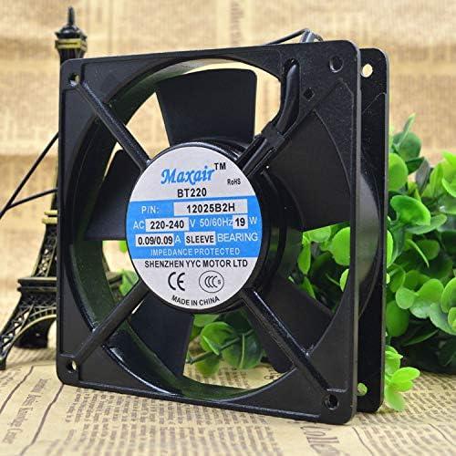 Cytom for Maxair BT220 P//N 12025B2H 220~240V 19W 12025 Double Ball Cooling Fan