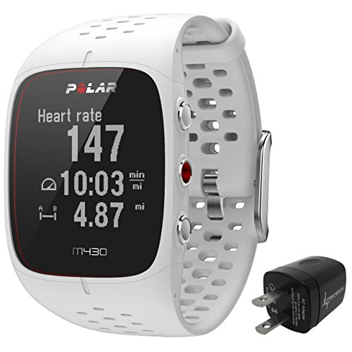 Polar M430 Advanced Running GPS Watch with Wrist-Based Heart