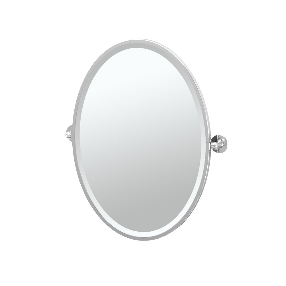 Gatco 4419S Cafe Rectangle Mirror, Chrome