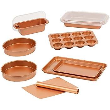 Amazon Com Copper Chef 12 Piece Elite Baking Pan Set 9