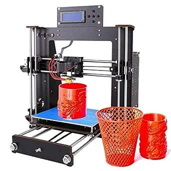 Impresora 3D, GUCOCO Mejorar Prusa I3 Pantalla LCD de bricolaje ...