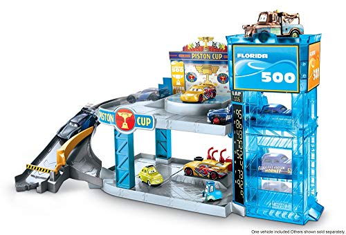 Disney Pixar Cars Pit - Disney Pixar Cars Piston Cup Garage Redeco Vehicle