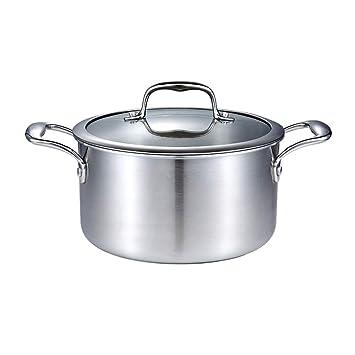 Olla- La Sopa, el Acero Compuesto de Tres Capas no es pegajoso, y
