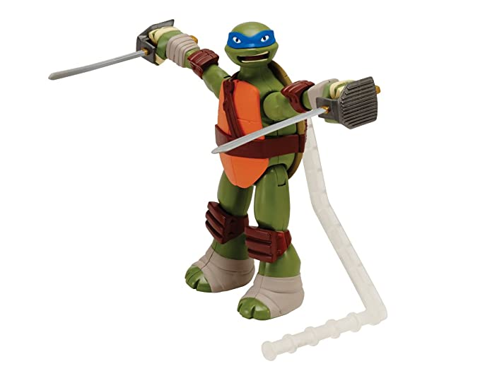 Teenage Mutant Ninja Turtles Deluxe Leo Action Figure ...