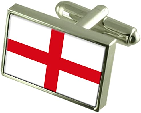 Flag of England St George/'s Cross Belt Buckle
