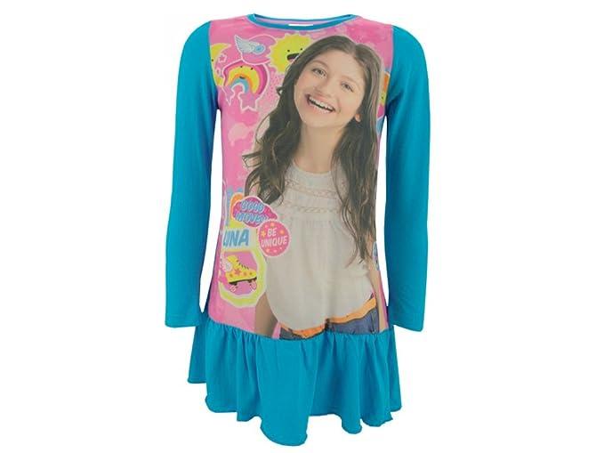 8592713f19ac Soy Luna - Vestido - Túnica - para niña: Amazon.es: Ropa y accesorios