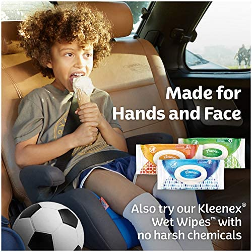 Kleenex Ultra Soft Facial Tissues, 8 Rectangular Tissue Boxes, 120 Tissues according to Box (960 Tissues Total)