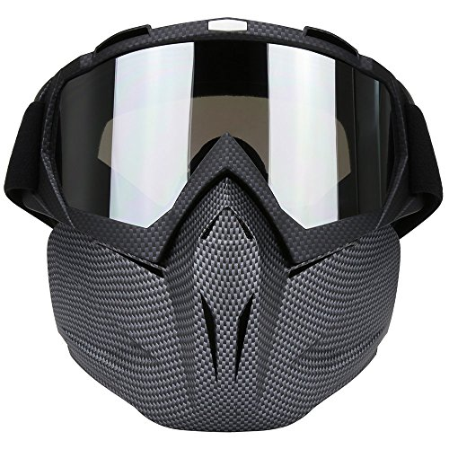 Motorcycle Motocross Goggles Mask Dirt Bike ATV MX Goggles for Desert Offroad Riding Racing Fits Men Women Youth Kids (C702)