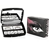 Melole Full Eye Magnetic Eyelashes: No Glue Sophie Fake Eyelash Extensions with 3