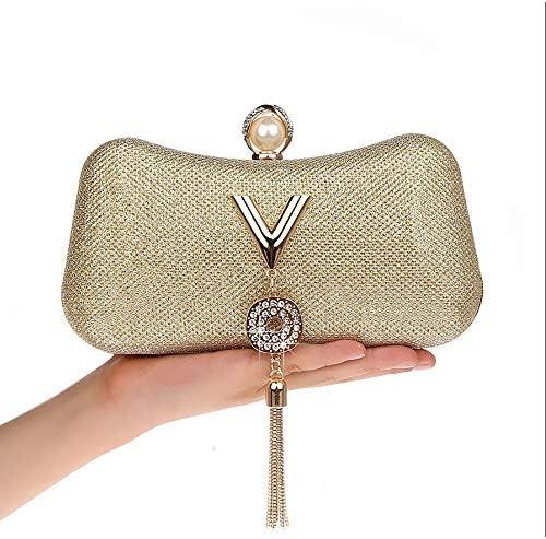 女性のイブニングバッグ、女性のダイヤモンドラインストーンクラッチ、クリスタルフリンジチェーンショルダー財布、ウェディング財布、エレガントなデザイン、シンプルでトレンディ 美しいファッション