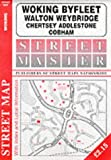 Woking, Byfleet, Walton, Weybridge, Chertsey, Chobham, Addlestone (Streetmaster Street Maps)