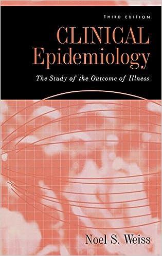 Epidemiology book clinical