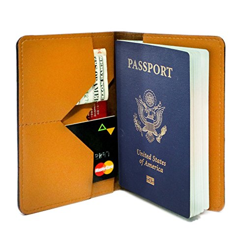 Personalized Passport Holder - Wanderlust - Leather Passport Holder for Women by With Love From Julie (Image #1)