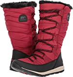 Sorel Women's Whitney Lace Waterproof Winter Boot Red 10 M US