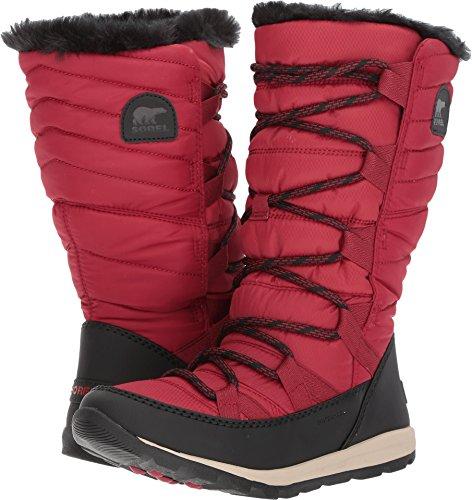 Sorel Women's Whitney Lace Waterproof Winter Boot Red 10 M US by SOREL