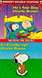Snoopy Double Feature Vol. 2 (He's Your Dog/It's Flashbeagle, Charlie Brown) [VHS]