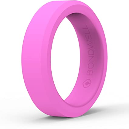 Amazoncom BEST SILICONE WEDDING RING FOR WOMEN Protect Your