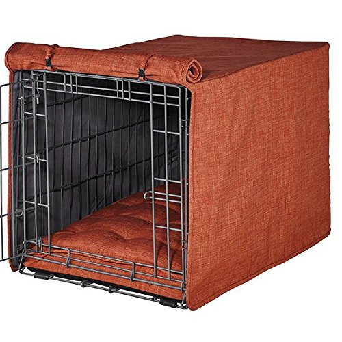 Microlinen Luxury Crate - Bowsers Luxury Crate Cover, Small, Tucson