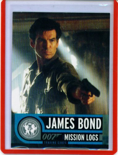 Rittenhouse James Bond OO7 Mission Logs Trading Cards Promo (Mission Log)