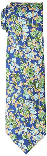 Ben Sherman Men's Goose Floral Tie, Green, One Size