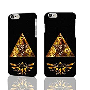 """Legends Of Zelda Triforce Cool 3D Rough iphone 6 -4.7 inches Case Skin, fashion design image custom iPhone 6 - 4.7 inches , durable iphone 6 hard 3D case cover for iphone 6 (4.7""""), Case New Design By Codystore"""
