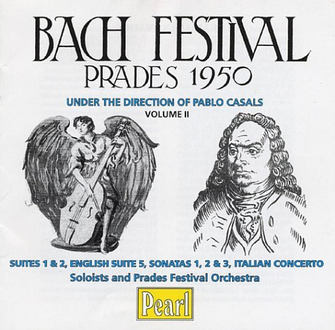 Manufacturer direct delivery Max 43% OFF Bach Festival: Prades Volume 1950 2