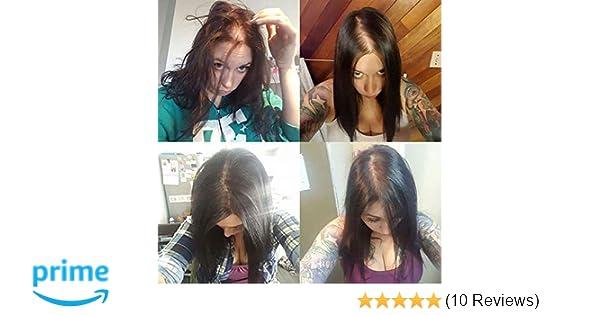 Full Shine Topper Hair Piece Human Hair Hand