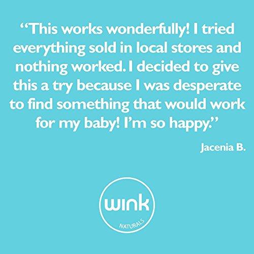 Wink Naturals Baby Bum Balm - 40% Zinc Oxide, Fragrance & Dye-Free, Healing Skin Protectant Diaper Rash Cream by Wink Naturals (Image #4)'
