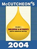 McCutcheon's Emulsifiers and Detergents : North American Edition, , 094425473X