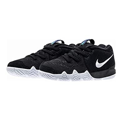 size 40 ae373 ff8ae Nike Kyrie 4 Toddler Boys Shoe Black Anthracite Light Racer Blue White (