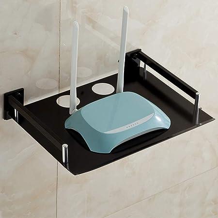 TLMY Consola Flotante montada en la Pared Dispositivo/Dispositivo de transmisión de parlantes de la Caja de TV del enrutador de WiFi. Mueble para TV de Pared (Size : 1-Tier): Amazon.es: Hogar