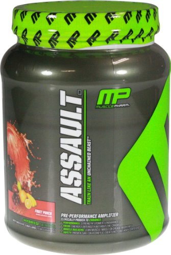 Muscle Pharm Assault, Fruit Punch,