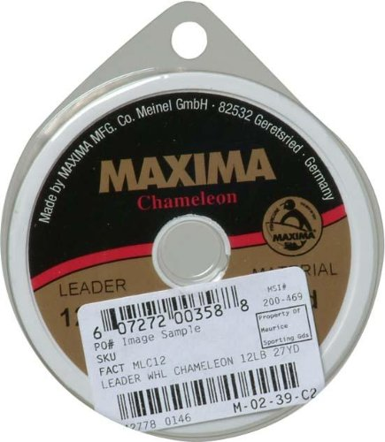 Maxima Fishing Line Leader Wheel, Chameleon, (Maxima Tippet)