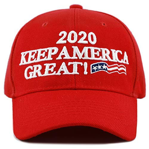 THE HAT DEPOT Exclusive Donald Trump Slogan Keep America Great Make America  Great Again 3D Cap a7a427d60559