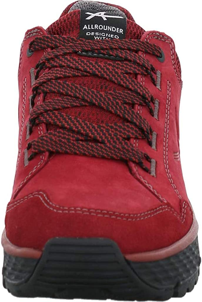 Allrounder Ovida-Tex, Red Pear/Red Pear, C. Suede 67 / Nubuk 67, Allro-Tex AO010 Rot
