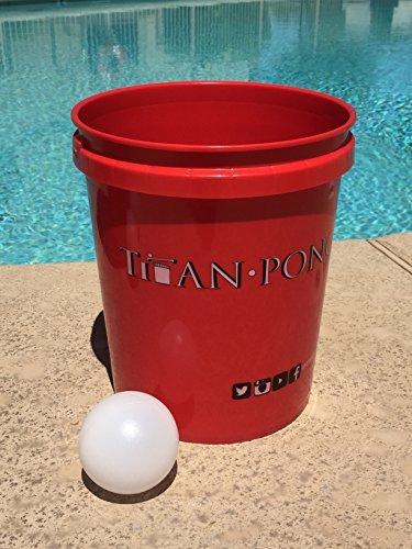 Titan Pong - Giant Beer Pong (Diy Drinking Games)