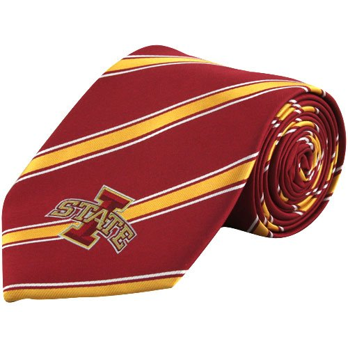 Eagles Wings EAG-6240 Iowa State Cyclones NCAA Woven Poly 1 Mens Tie