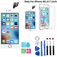 iPhone 6 Frout Screen Replacement white Kit, Screen...