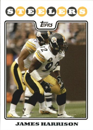 2008 Topps Football Rookie Card #241 James Harrison Near Mint/Mint