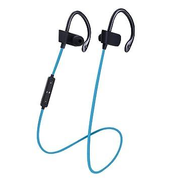 Headset Deportes en la Oreja, Deportes Auriculares Bluetooth Auriculares estéreo inalámbricos Auriculares a Prueba de